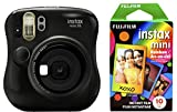 Photo : Fujifilm Instax Mini 26 + Rainbow Film Bundle - Black