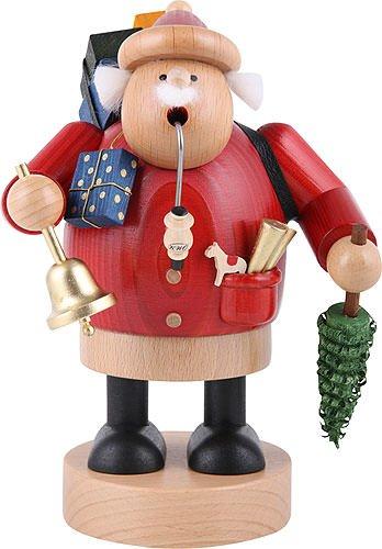 German Incense Smoker Santa Claus - 18 cm / 7 inch - Authentic German Erzgebirge Smokers - KWO by Authentic German Erzgebirge Handcraft