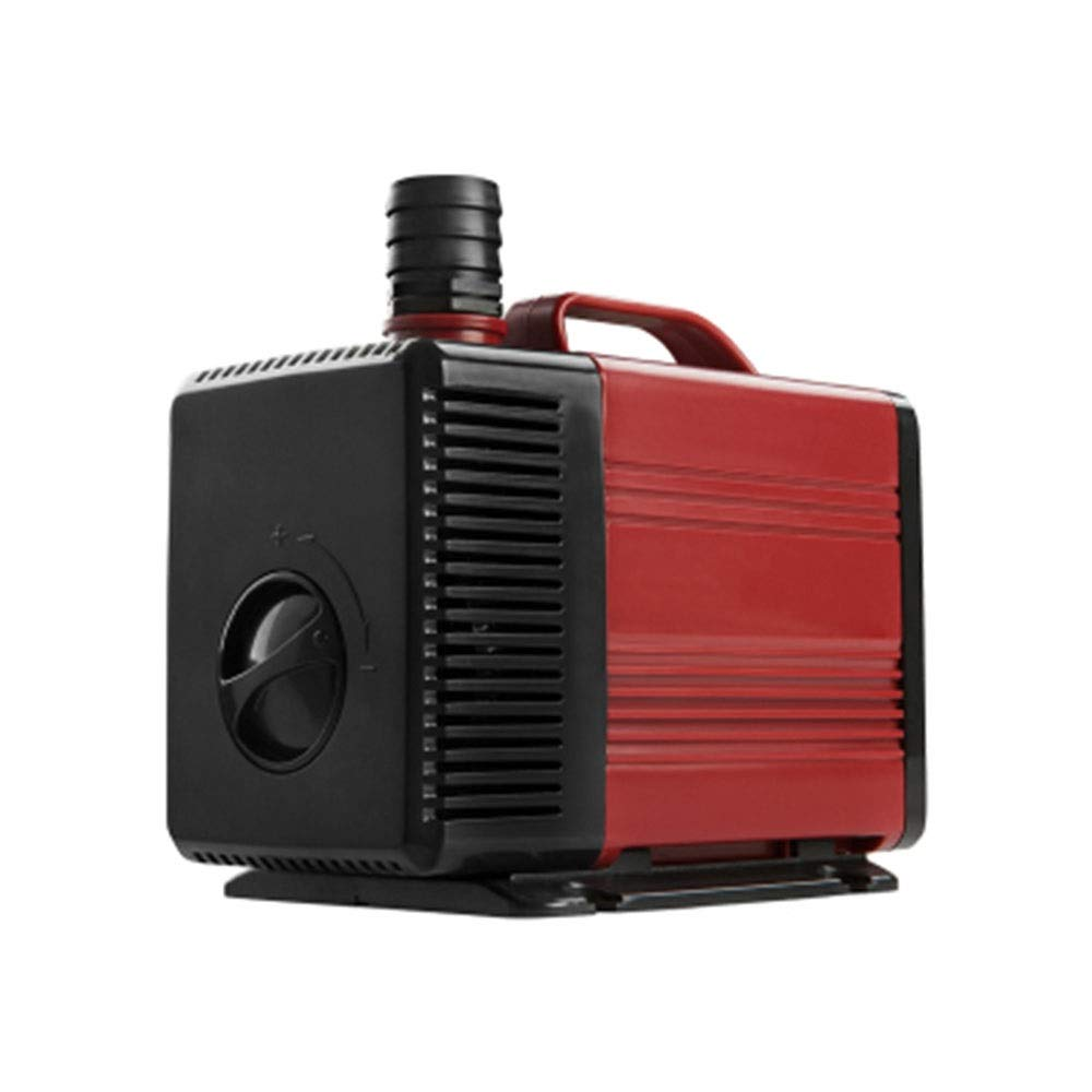 Red 100W Red 100W LIFUREN Fish Tank Oxygen Pump Silent Filtering Circulating Pump Submersible Pump Small Household Aquarium Pump (color   Red, Size   100W)
