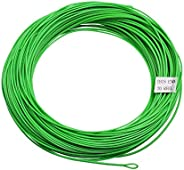 SF Weight Forward Floating Line Fly Fishing Line Welded Loop Green 90FT WF1 2 3 4 5 6 7 8 9FT