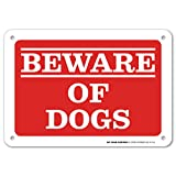 Beware of Dogs Laminated Sign - 7