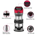 Avid Power 6.5-Amp 1.25 HP Compact Router with
