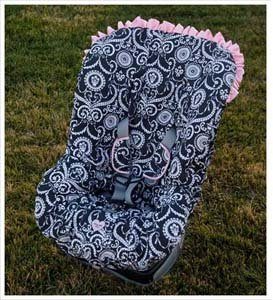 Toddler Car Seat Cover Color Pattern Mid Summer Dream