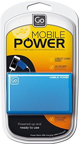 Price comparison product image Design Go Slimline Power Bank, Blue