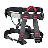 HandAcc Climbing Harness, Professional Mountaineering...
