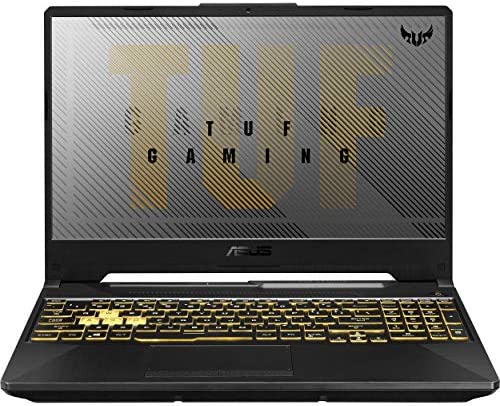 "ASUS TUF VR Ready Gaming Laptop, 15.6"" IPS FHD, AMD Ryzen 7-4800H Octa-Core as much as 4.20 GHz, NVIDIA RTX 2060, 32GB RAM, 1TB SSD, RGB Backlit KB, RJ-45 Ethernet, Win 10"