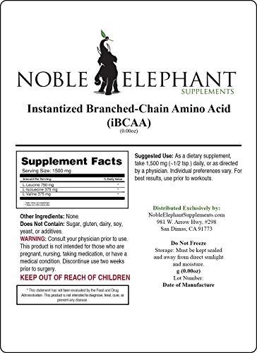 Pure Instantized Branched Chain Amino Acid Bulk Powder 4 Kilograms