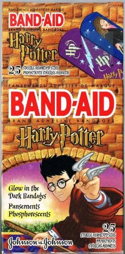 Harry Potter Glow-in-the-Dark Band-Aids By Johnson & Johnson ()