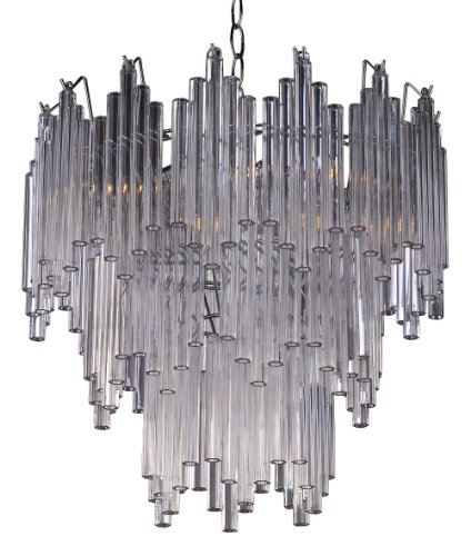 Park Madison Lighting PMC-6803-CL 4-Light Clear Acrylic C...