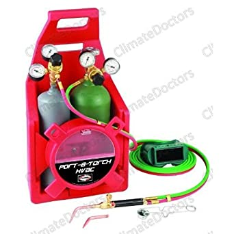 Harris 4400161 Port-A-Torch Brazing Outfit w/Tanks NEW