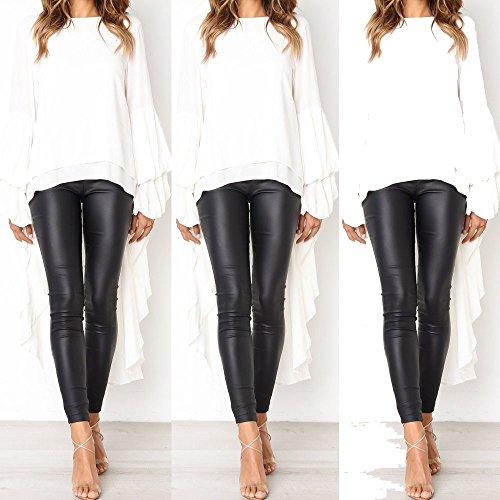 Long donna Originals Neckline da Vectry White Ragazza shirt Summer T Camicette shirt T Ev4wSxqH