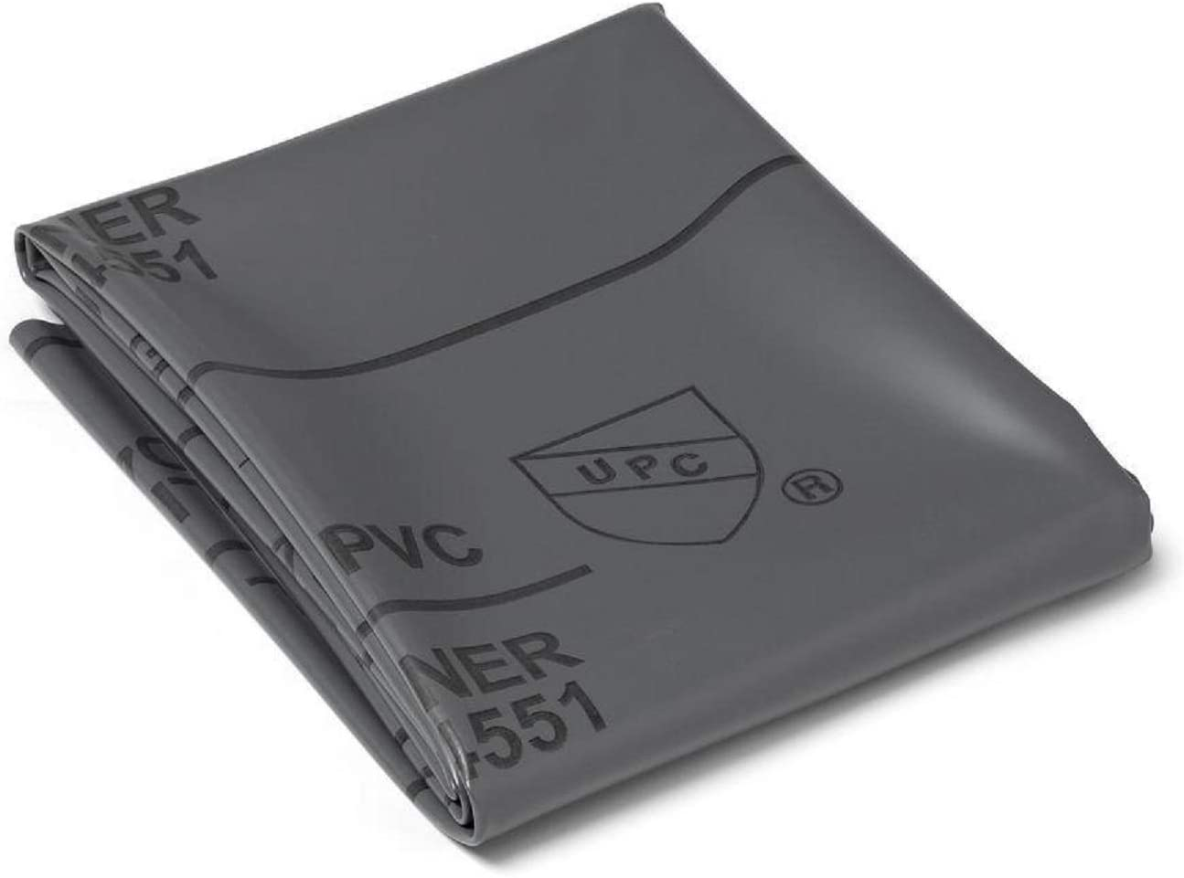 Shower Pan Liner 40 mil PVC Grey 6 x 4