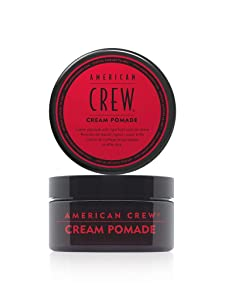 American Crew Cream Pomade, 3 oz, Light Hold with Natural Shine