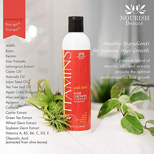 Buy hair regrowth shampoo and conditioner