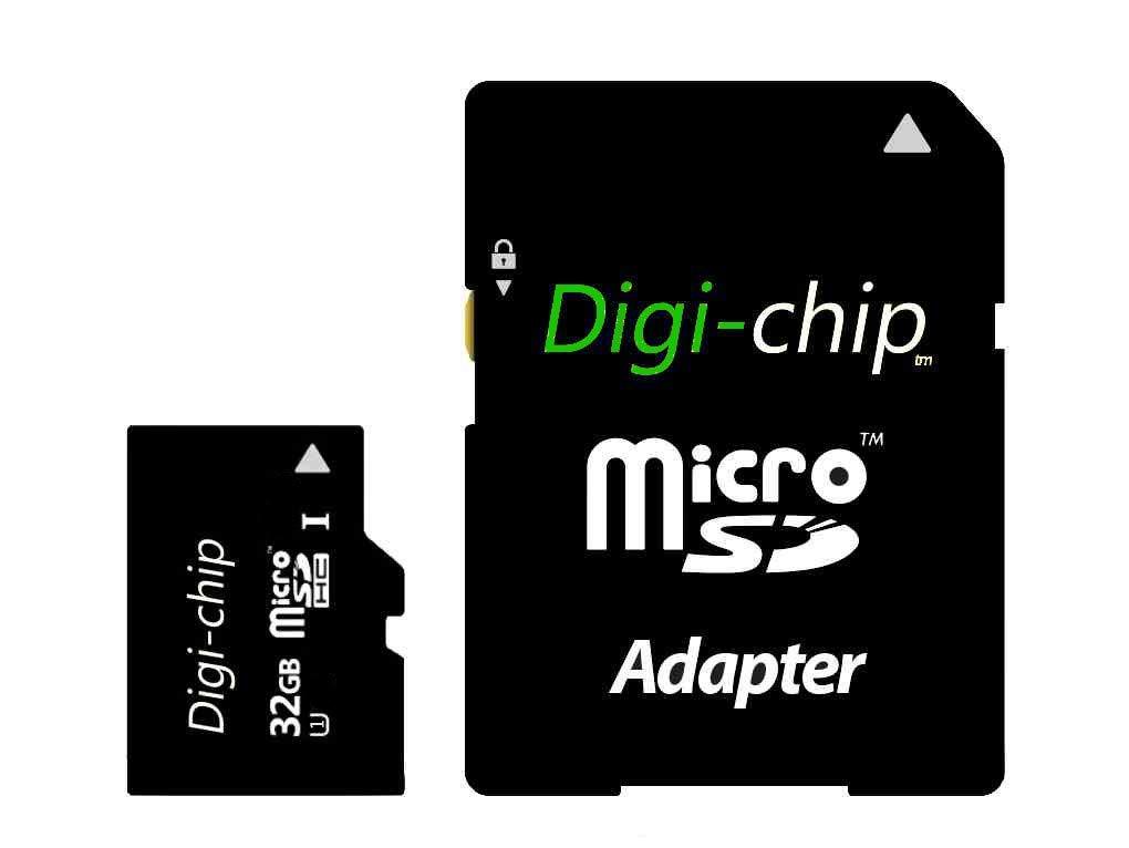 Digi-chip de alta velocidad 32 GB UHS-1 Clase 10 Micro-SD ...