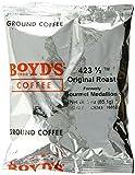 Boyd's Coffee Ground Coffee, Original Roast, Medium Roast, 3-Ounce Portion Packs (Pack of 40)