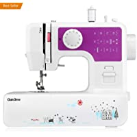 oakome Household Multifunction Sewing Machine with 12 Built-in Stitches and Patterns