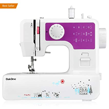 Amazon Oakome Household Sewing Machine Multifunction 40 Built Interesting Sewing Machine Jobs