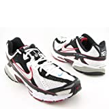 Nike Mens Running Shoes AIR CESIUM 2 White / Metallic Silver / Black / Red SZ 12