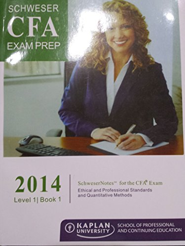 2014 CFA Level 1 Schweser Notes(5 Books)+Practice Exams(2 Volumes)+Quicksheet+2013 Q&A