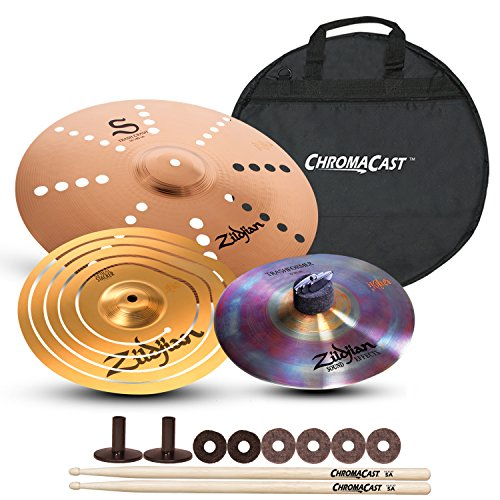 Cymbal Efx Crash Custom (Zildjian Effects Cymbal Pack with ChromaCast Cymbal Bag)