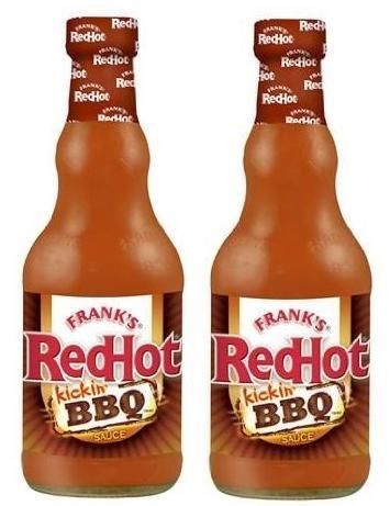 Frank's RedHot Kicken' BBQ Sauce (12 oz) 2 Pack