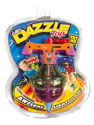 (Big Time Toys Dazzle Top Light Up LED Spinning Toy)