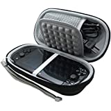 co2CREA Semi-hard EVA Shockproof Protective Carry Travel Storage Case Bag for Sony Playstation Vita PSVita 1000 2000 (slim version) psv1000 psv2000 PSV 1000 2000 with built-in game memory card holder
