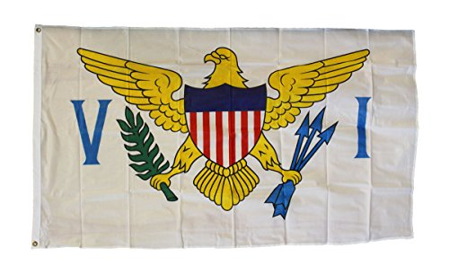 US Virgin Islands - 3' x 5' Polyester State Flag