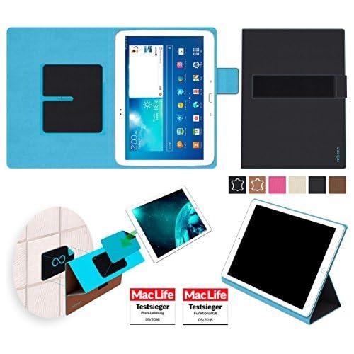 2bfc50b389c Étui Coque Housse pour Samsung Galaxy Tab 3 10.1 in Noir - Boîtier  innovateur 4 en 1 - Support mural anti-gravité