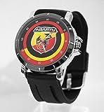 Abarth Logo Stylized Car Sport Custom Watch Fit Your Bike
