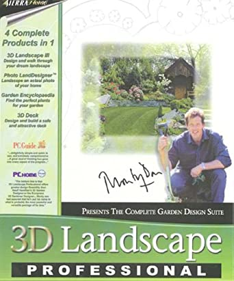 48D Landscape Professional With Monty Don Amazoncouk Software Classy Professional Garden Design Software Gallery