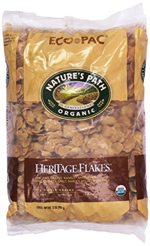 Nature's Path Organic Heritage Flakes Cereal, 32 oz Eco Pac Bags