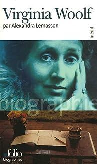 Virginia Woolf par Alexandra Lemasson