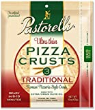 Pastorelli Ultra Thin & Crispy Pizza Crust, 12-inch, 3-ct (Pack of 6)