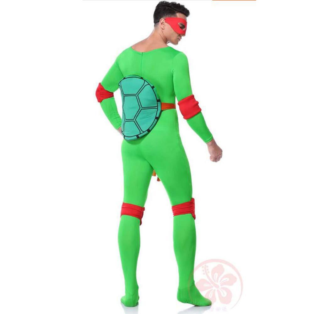 ZSDFGH Disfraz Tortuga Ninja Adulto/Disfraz Mujer Ninja ...