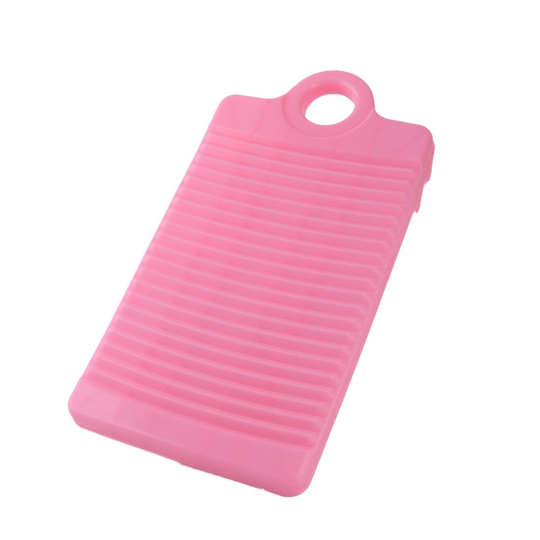 uxcell Plastic Laundry Bathroom Rectangle Clothes Garment Pants Washing Board Plate Pink US-SA-AJD-181472