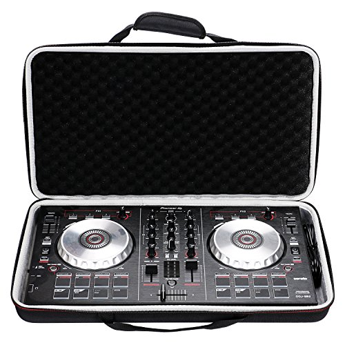 LTGEM Case for Pioneer DJ DDJ-SB3 / DDJ-SB2 / DDJ-400 or Portable 2-channel Controller or DDJ-RB Performance DJ Controller-Black