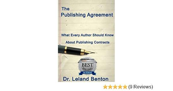The Publishing Agreement Publishing Contracts Epublishing Book 11