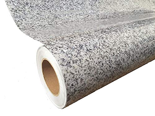 Instant Granite Luna Pearl Counter Top Film 36'' x 144'' Self Adhesive Vinyl Laminate Counter Top Contact Paper Faux Peel and Stick Self Application by Instant Granite (Image #3)