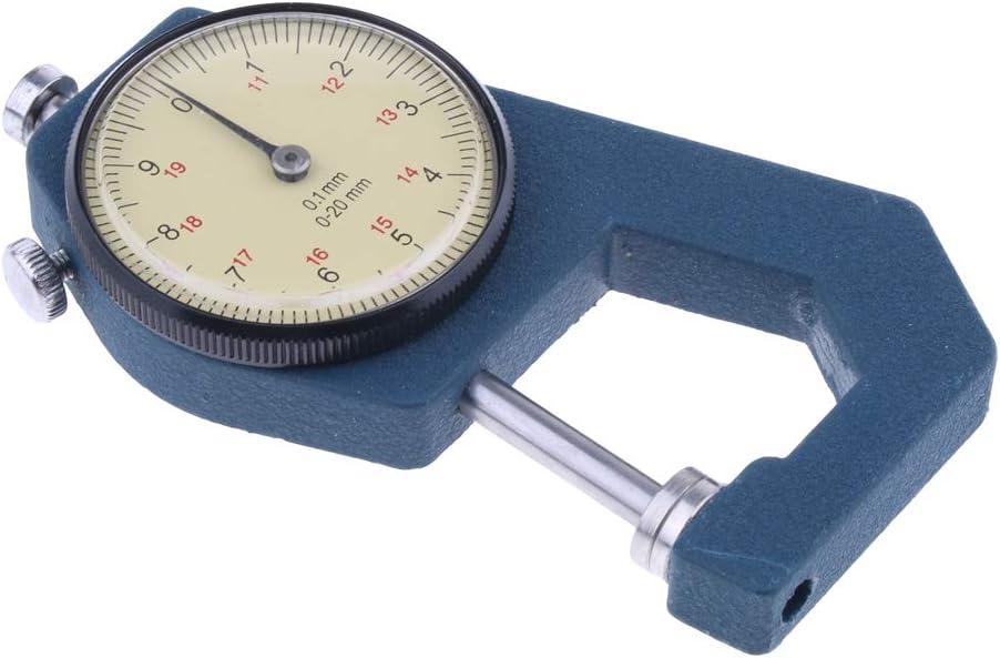 Dickenmessger/ät Dickenmessung Dickenmesser 0,01 Mm 0-20 Mm aus Metall