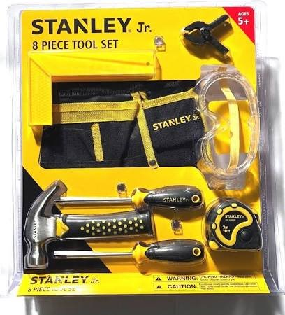 Red Box Tools - Stanley Jr.8 pc.Tool Set