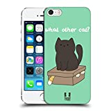 Head Case Designs What Other Cat Ceiling Cat Vs Basement Cat Hard Back Case for Apple iPhone 5 / 5s / SE