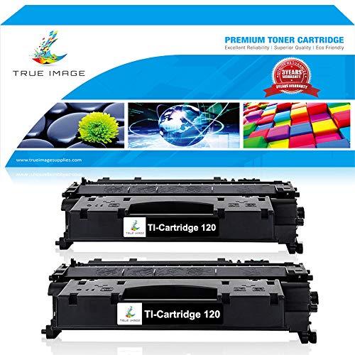 TRUE IMAGE 2 Packs Compatible Replacement for Cartridge 120 CRG 120 Canon 120 Toner Cartridge Canon Imageclass D1550 Toner ImageClass D1320 Toner D1350 Toner for D1150 D1100 D1120 D1170 D1180 Printer (120 Cartridge Toner Black)