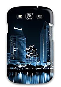 New San Diego City Tpu Skin Case Compatible With Galaxy S3