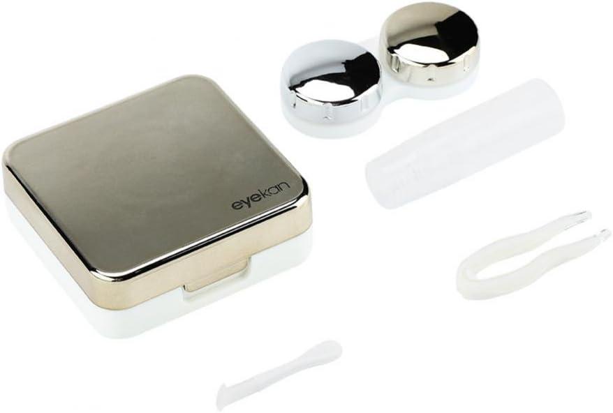 Caja de lentes de contacto, soporte de lentes de contacto Cuidado ...