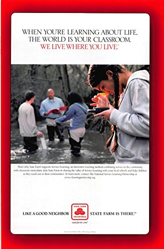 Print Ad 2003 State Farm Insurance Youre Learning About Life World Is Your Classroom