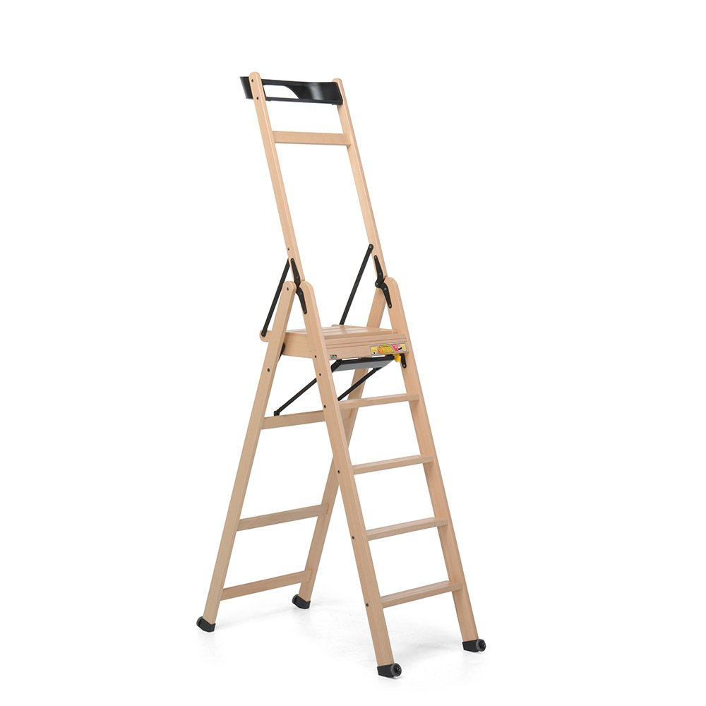 Foppapedretti Lascala 5-Rung Step Ladder natural SCALA5NA 9900370003