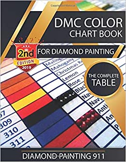 photograph about Dmc Floss Color Chart Printable known as DMC Colour Chart Reserve for Diamond Portray : The Thorough
