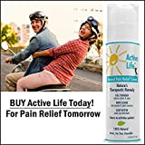 Active Life Natural Pain Relief Cream 5 Ounces